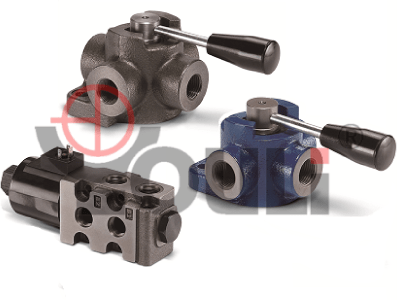 Rotary Control & Solenoid Operated Sectional Valves
